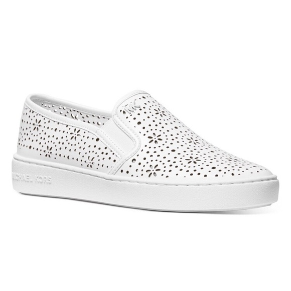 Kane Perforated Slipon Sneakers Mk
